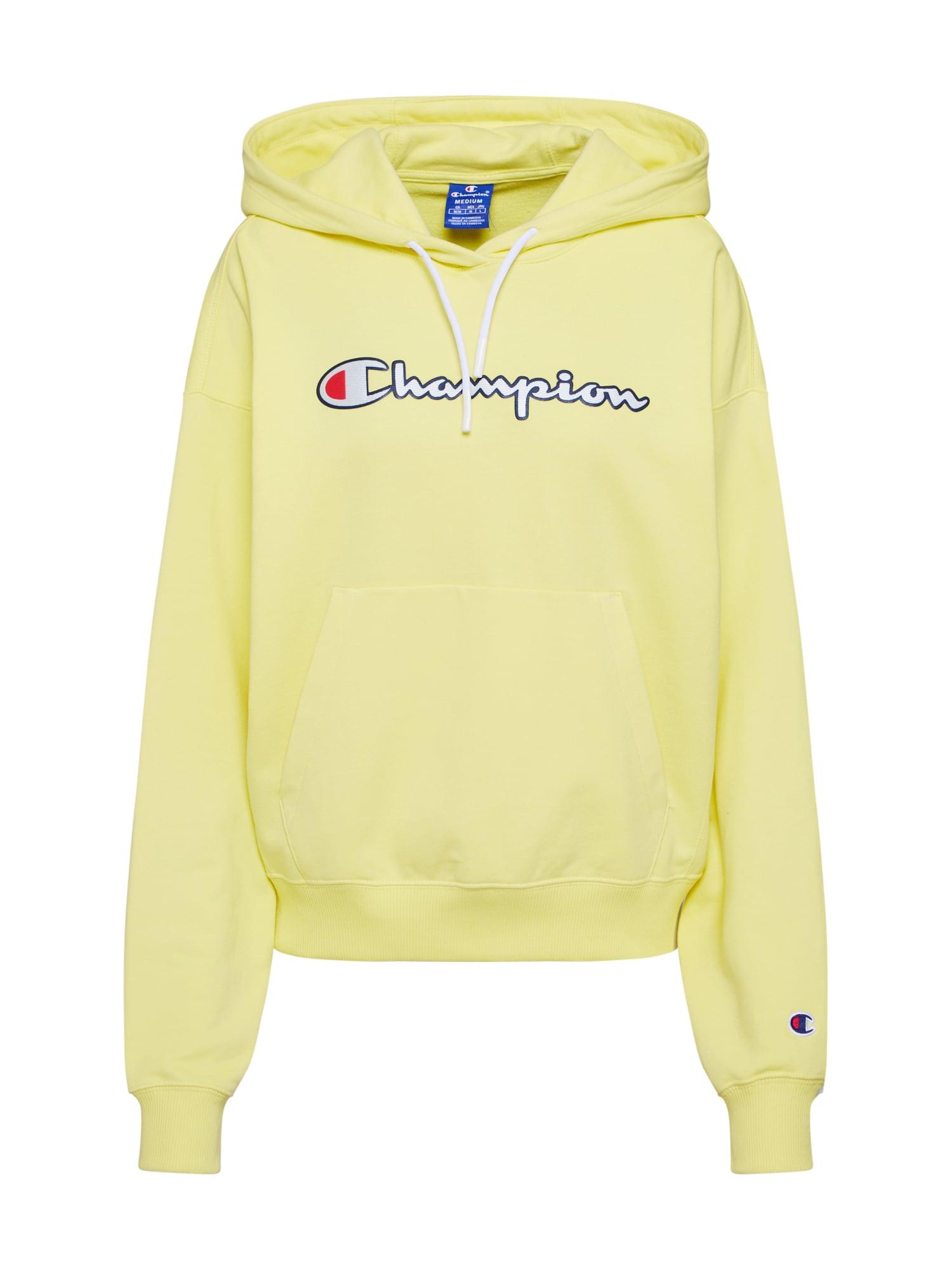 Champion Authentic Athletic Apparel Megztinis be užsegimo geltona