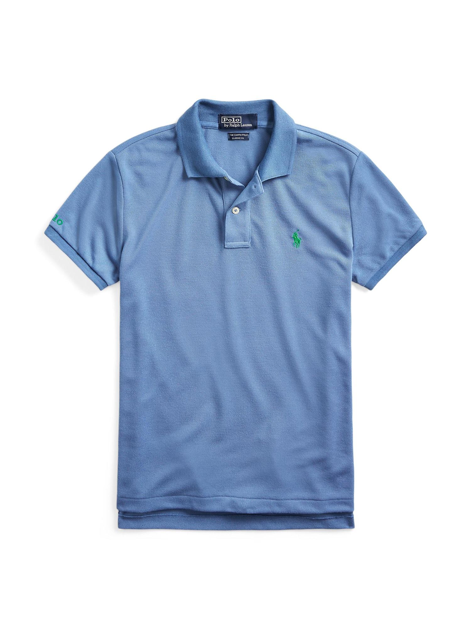 POLO RALPH LAUREN Marškinėliai 'CLASSIC FIT' mėlyna