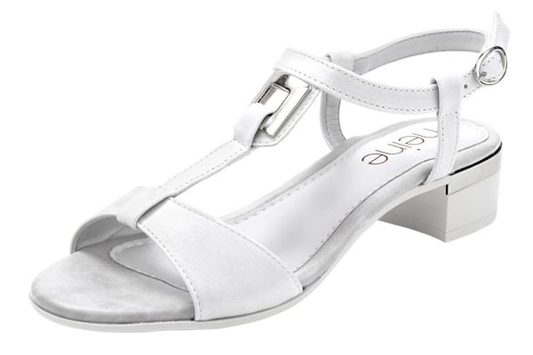 Sandalen für Frauen - Heine Sandalette weiß  - Onlineshop ABOUT YOU