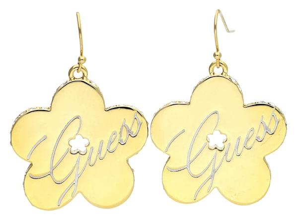 Ohrringe für Frauen - GUESS Ohrringe 'Ube11111' gold silber  - Onlineshop ABOUT YOU