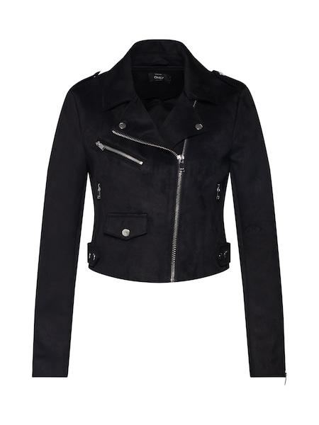 Jacken für Frauen - ONLY Jacke 'onlSHERRY' schwarz  - Onlineshop ABOUT YOU