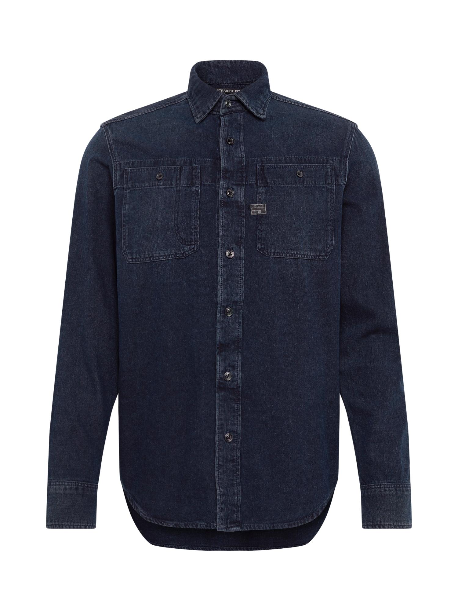 G-Star RAW Dalykiniai marškiniai 'Kinec' tamsiai mėlyna