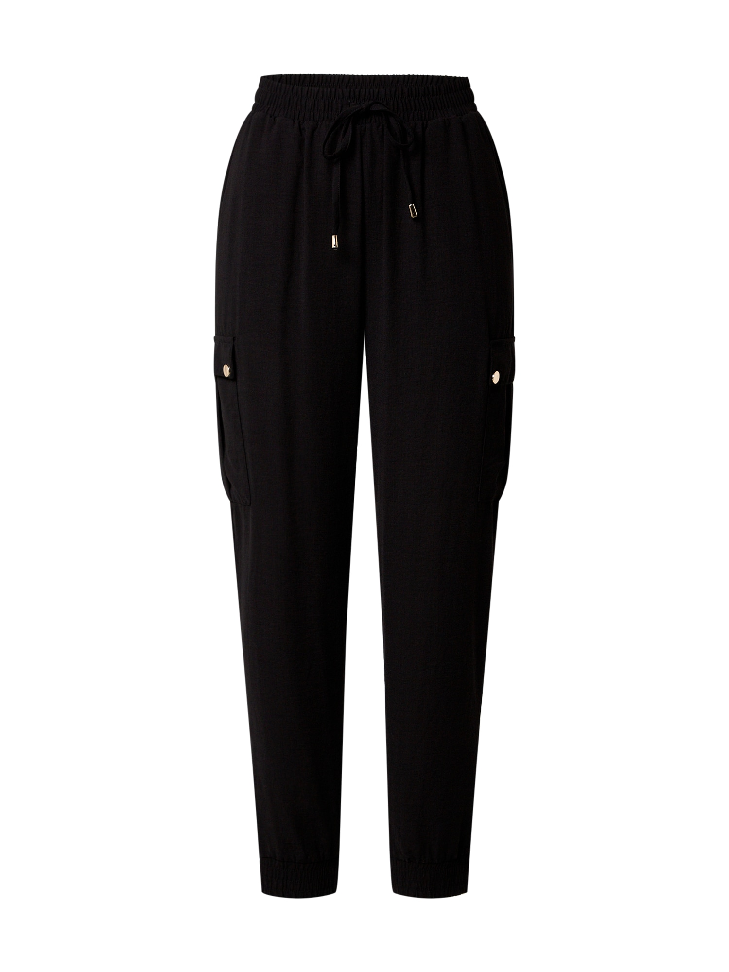Dorothy Perkins Laisvo stiliaus kelnės juoda