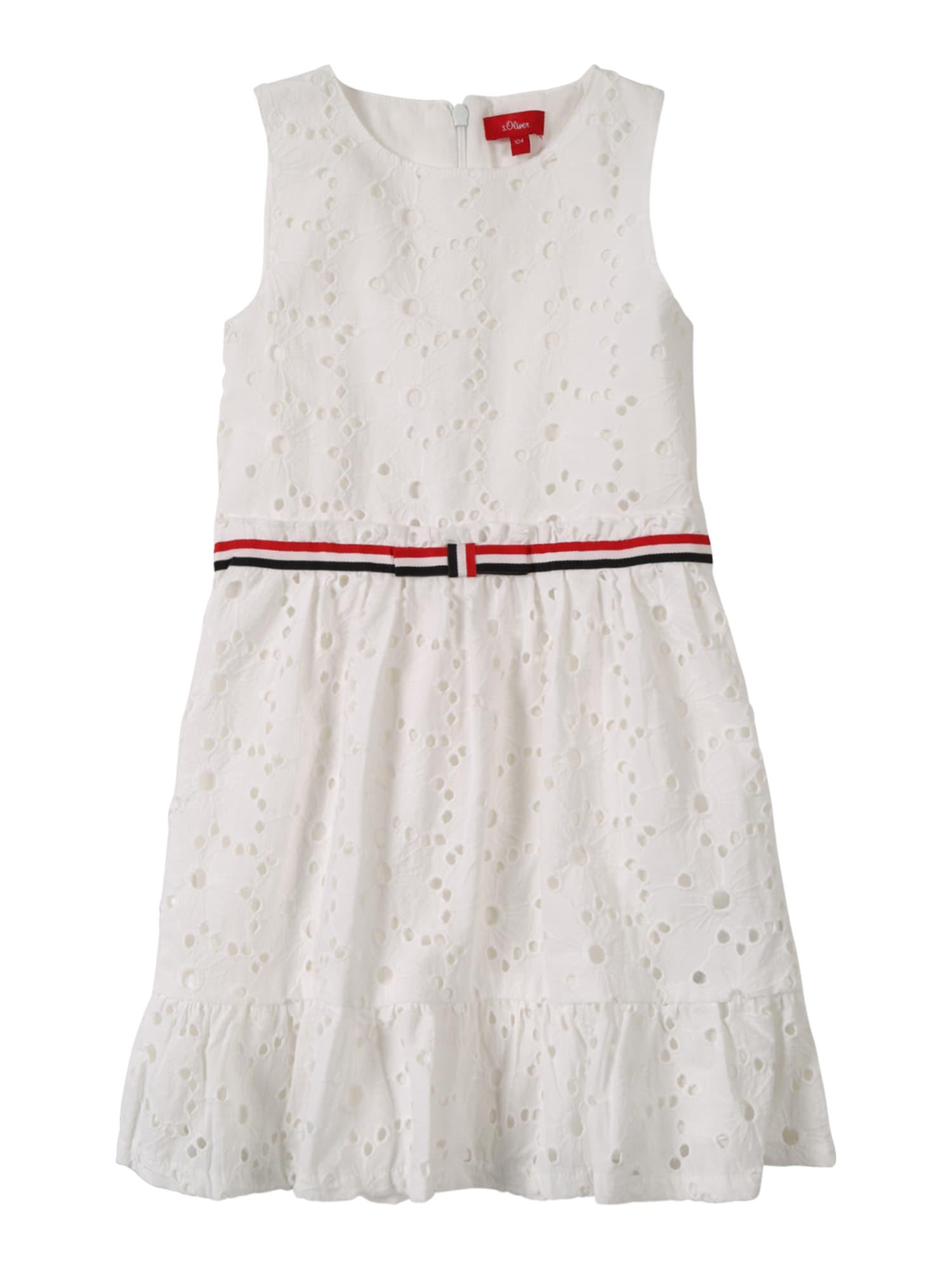Šaty bílá S.Oliver Junior