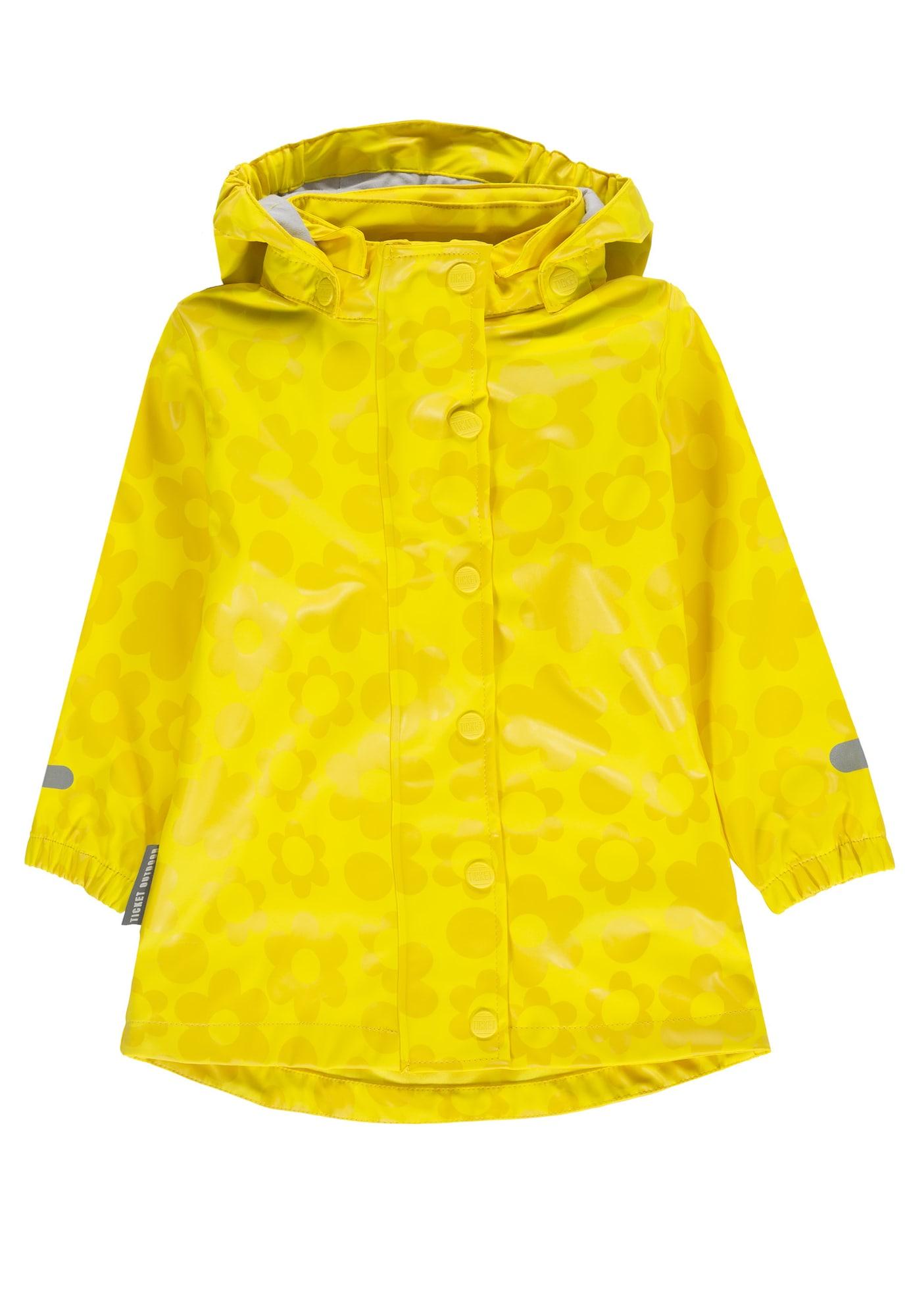 Funkční bunda žlutá hořčicová TICKET TO HEAVEN