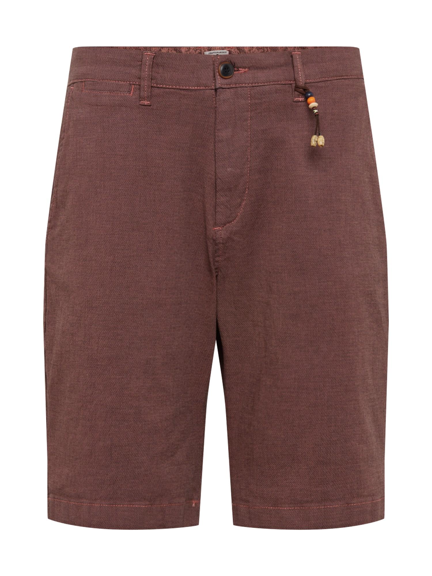 Chino kalhoty Kenzo Akm 432 červená třešeň JACK & JONES