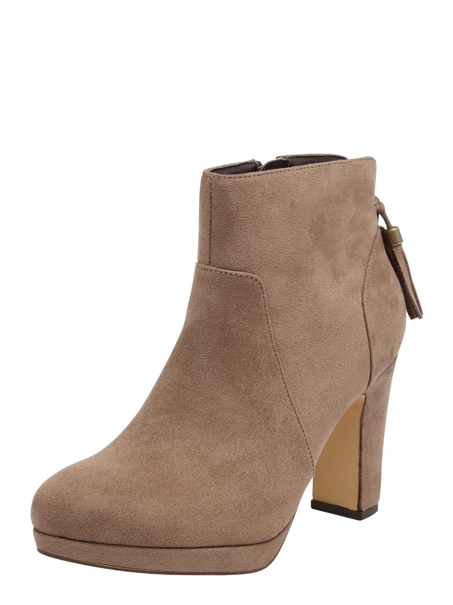 ABOUT YOU Kulkšnis dengiantys batai 'Alessandra' smėlio