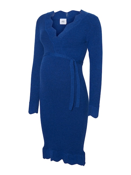 Schwangerschaftsmode - Strickkleid › Mamalicious › blau  - Onlineshop ABOUT YOU