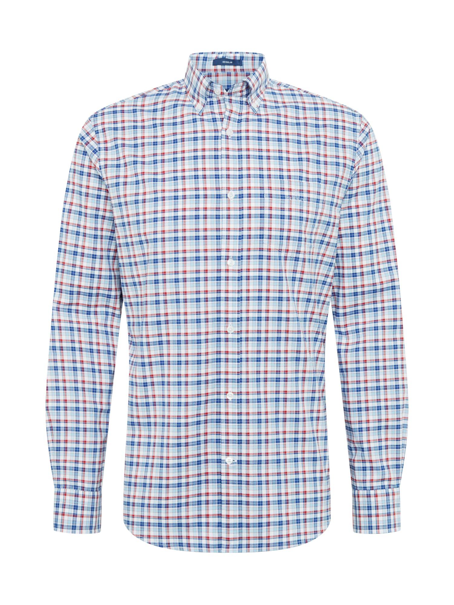 GANT Košeľa 'OXFORD'  biela / červené / modré