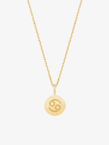 Ketten für Frauen - ID Fine Cancer (Krebs) Halskette gold  - Onlineshop ABOUT YOU
