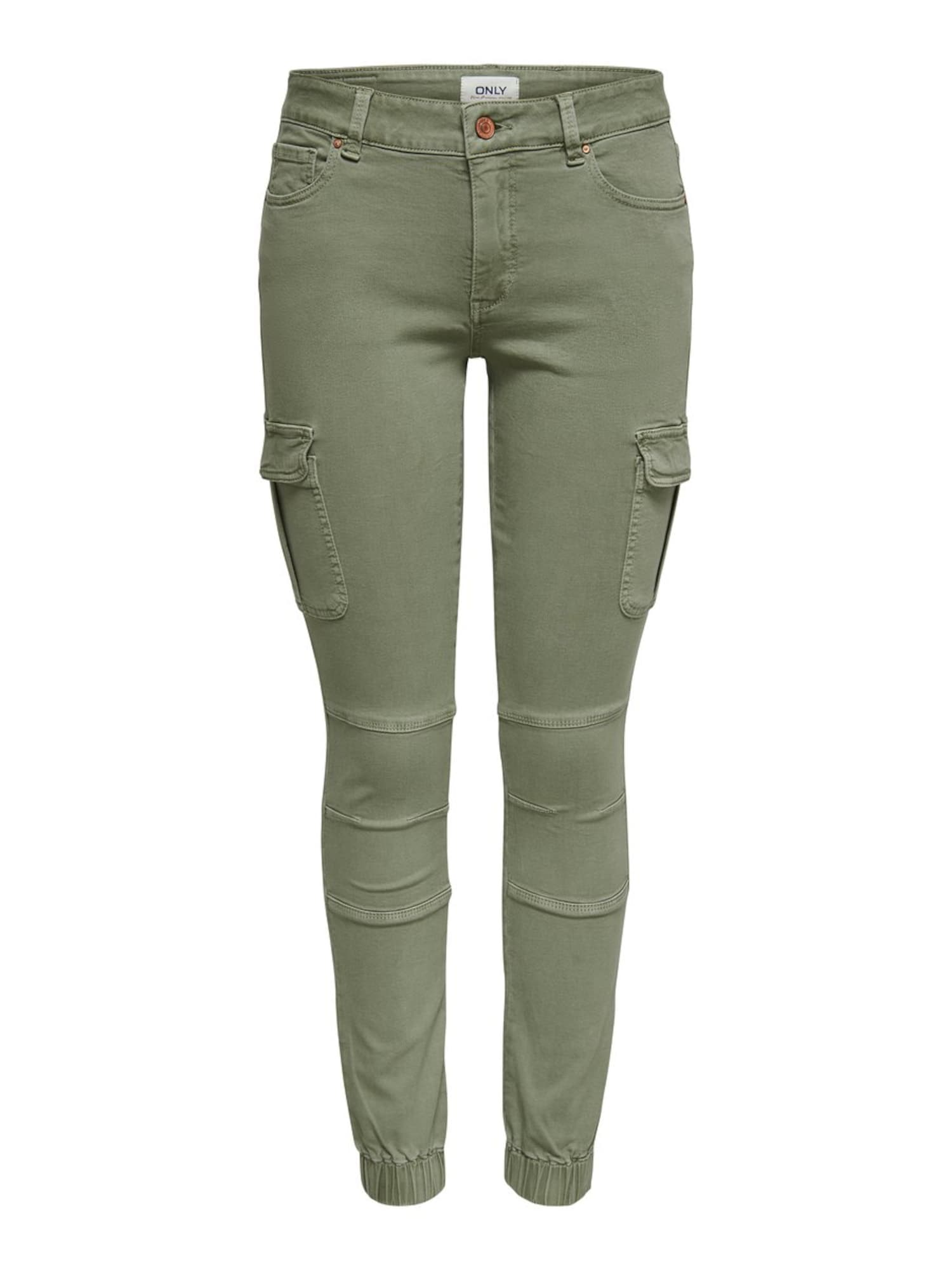 ONLY Darbinio stiliaus džinsai 'ONLMISSOURI' alyvuogių spalva