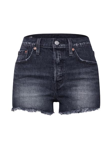 Hosen für Frauen - LEVI'S Shorts '501' grey denim  - Onlineshop ABOUT YOU