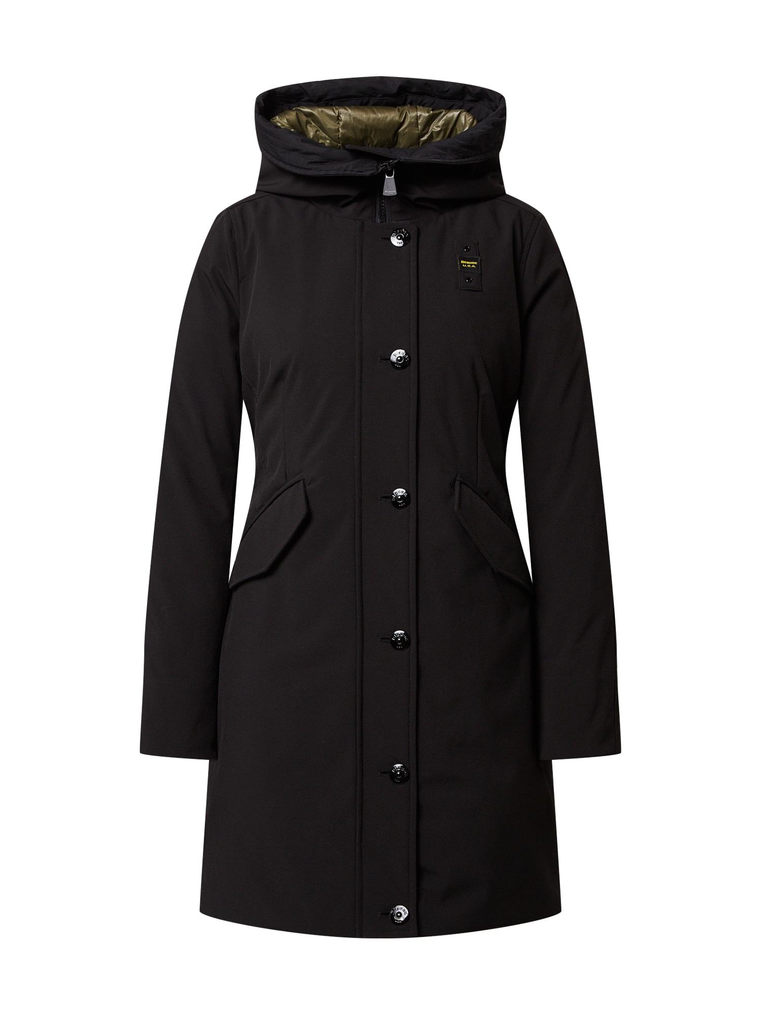 Blauer.USA Žieminis paltas juoda