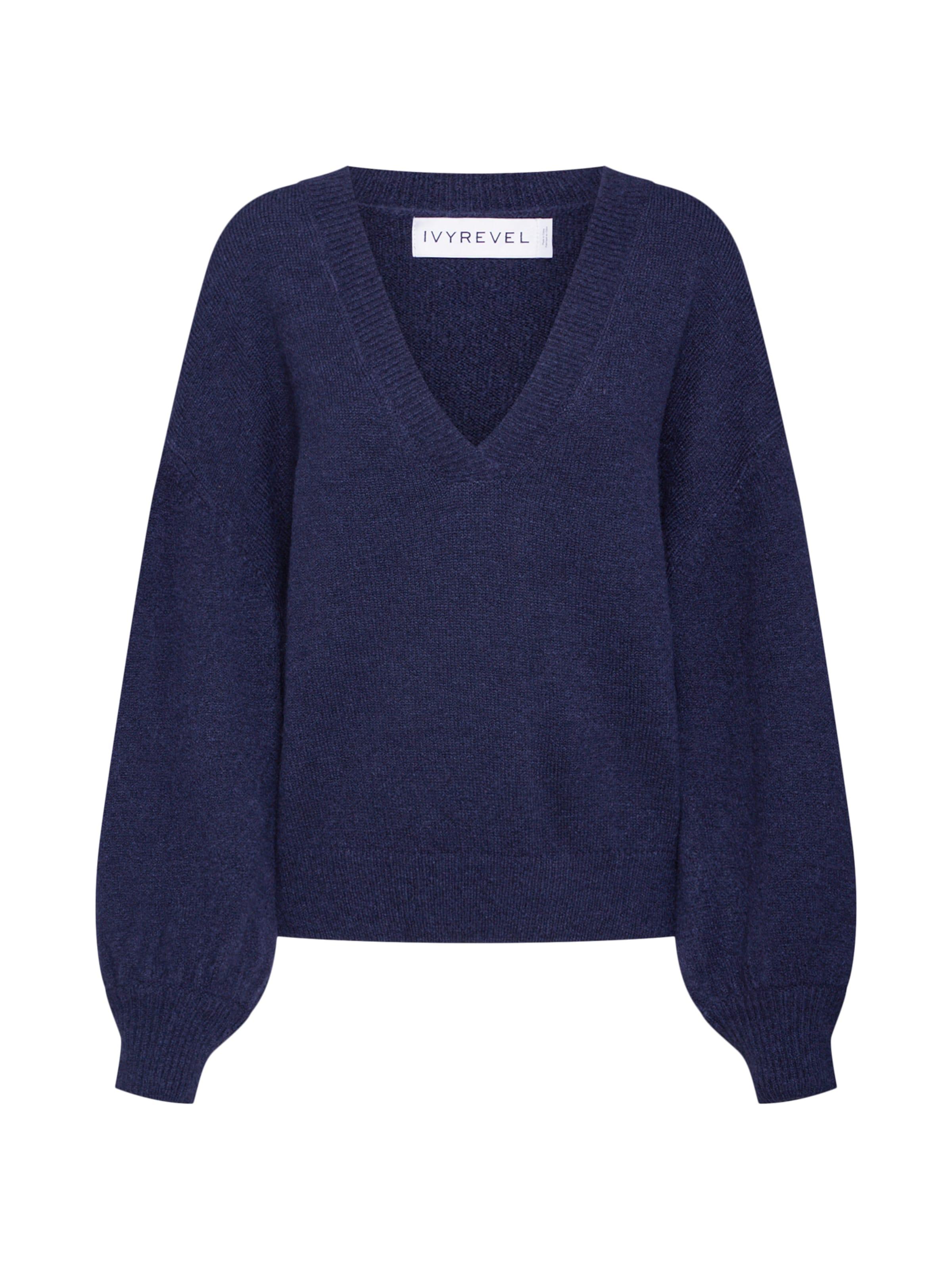 Damen IVYREVEL Pullover beige, blau | 07330039470509