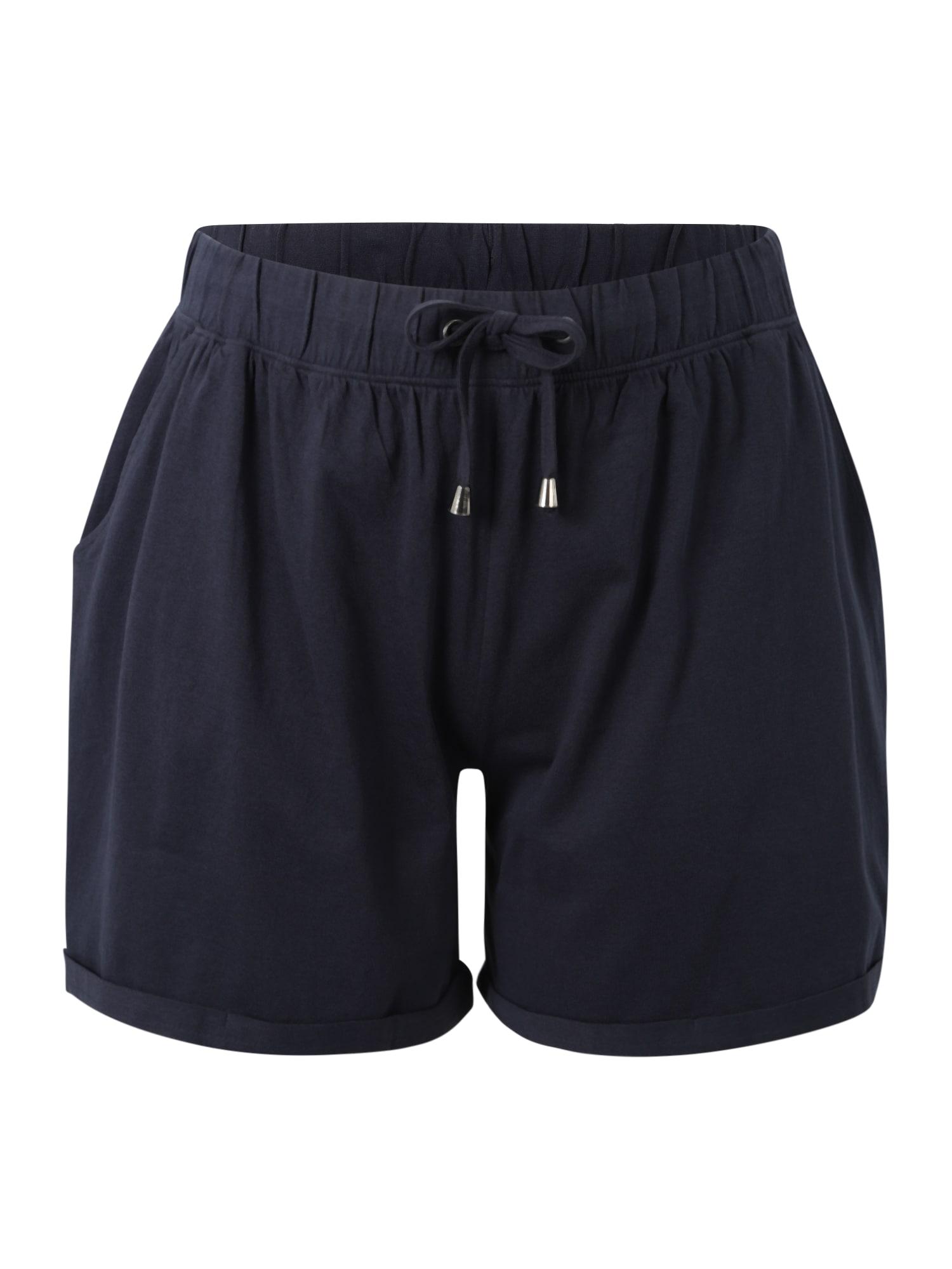 Kalhoty VMINA tmavě modrá Zizzi