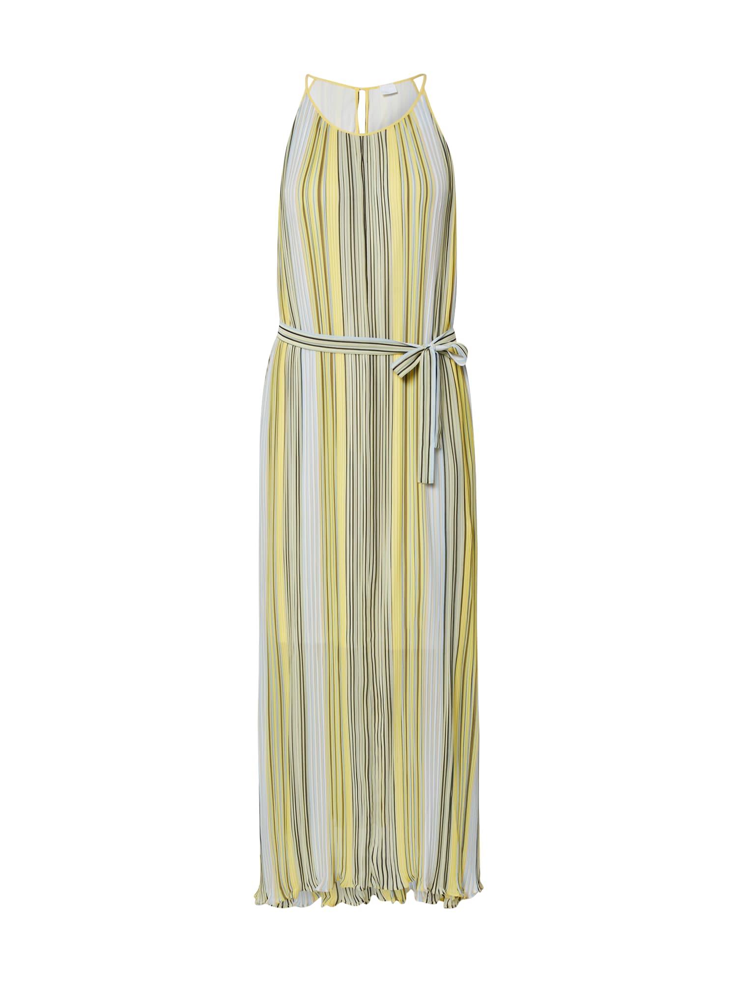 BOSS Vasarinė suknelė 'Ebbona' geltona / šviesiai žalia