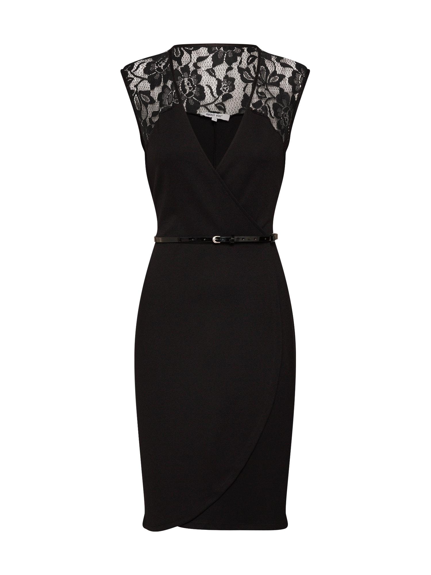 ABOUT YOU Suknelė 'Cecile Dress' juoda