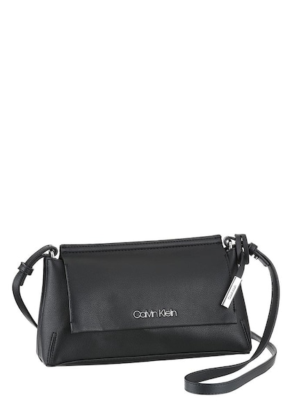 Clutches für Frauen - Calvin Klein Clutch 'STITCH FLAP' schwarz  - Onlineshop ABOUT YOU