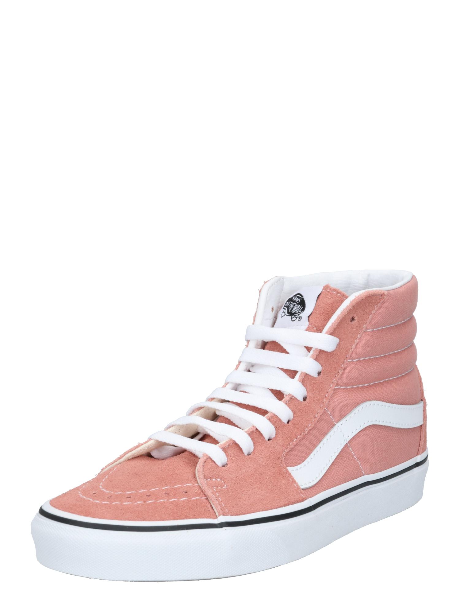VANS Členkové tenisky  biela / rosé