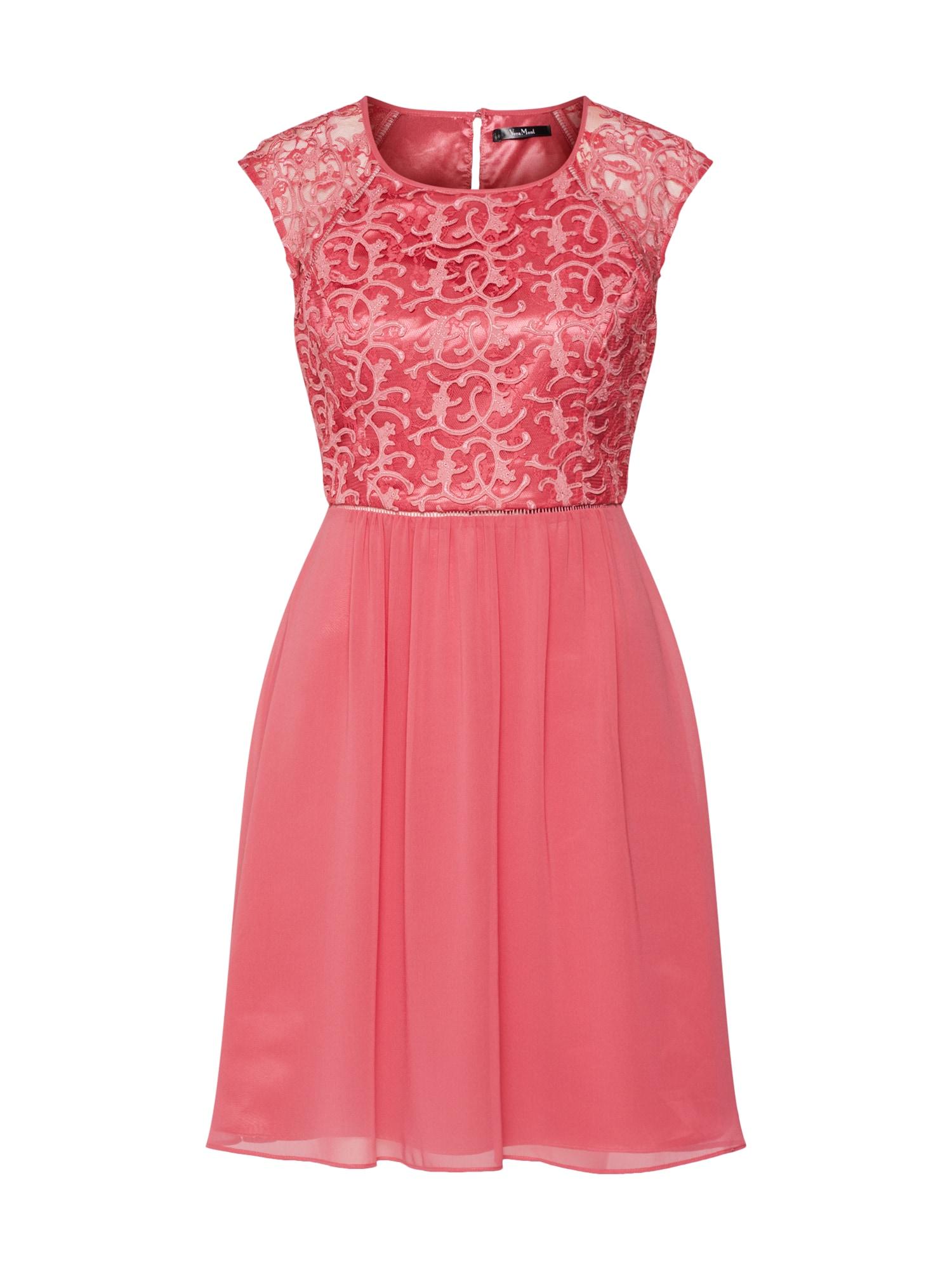 Vera Mont Kokteilinė suknelė rožinė / raudona