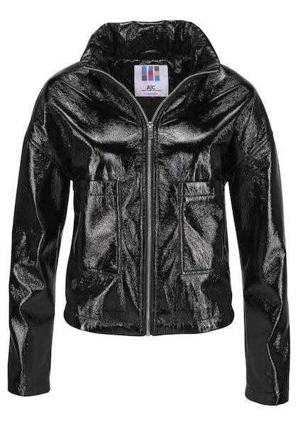 Jacken für Frauen - AJC Lederimitatjacke schwarz  - Onlineshop ABOUT YOU
