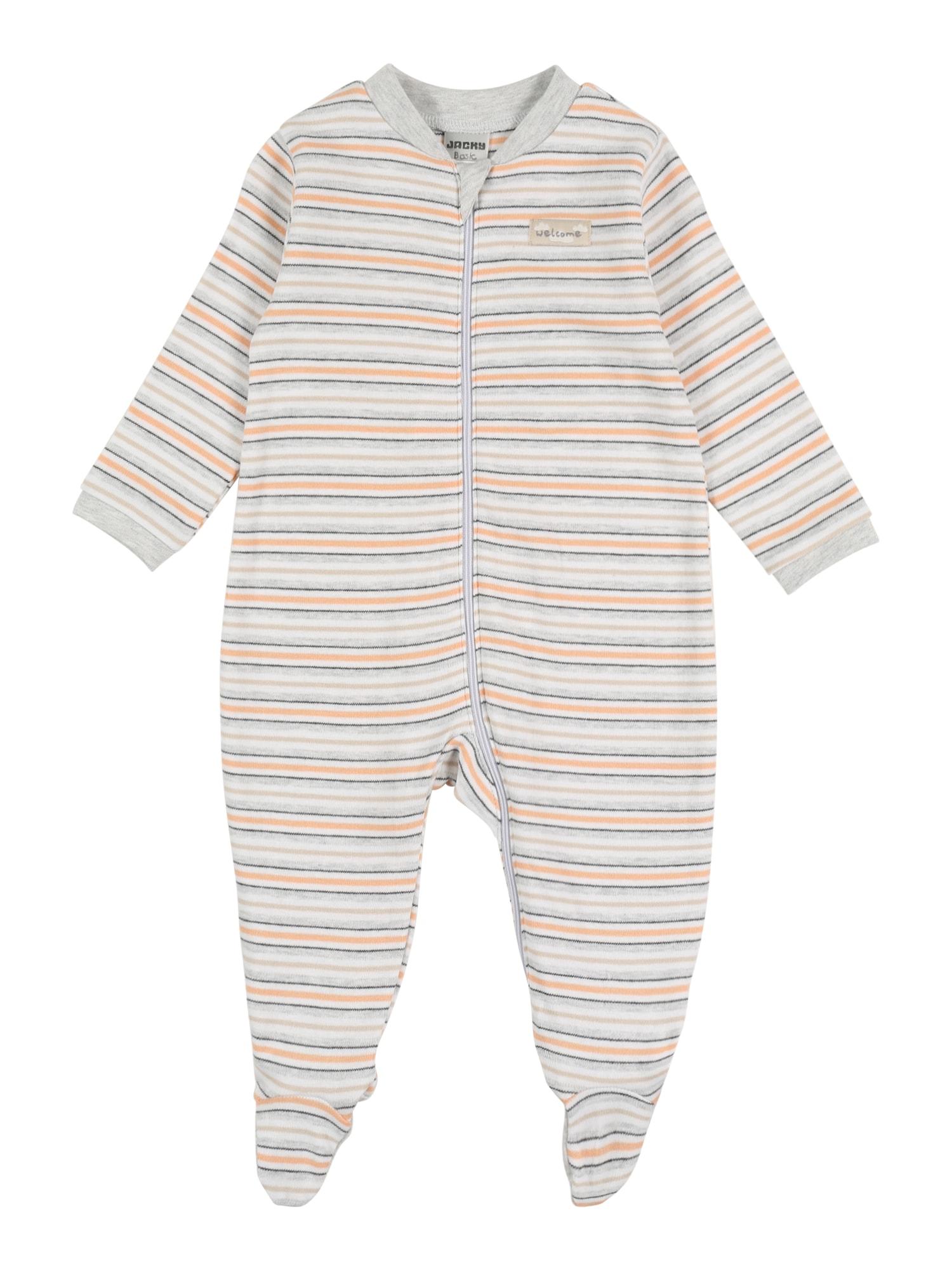 JACKY Miego kostiumas pilka / balkšva / smėlio