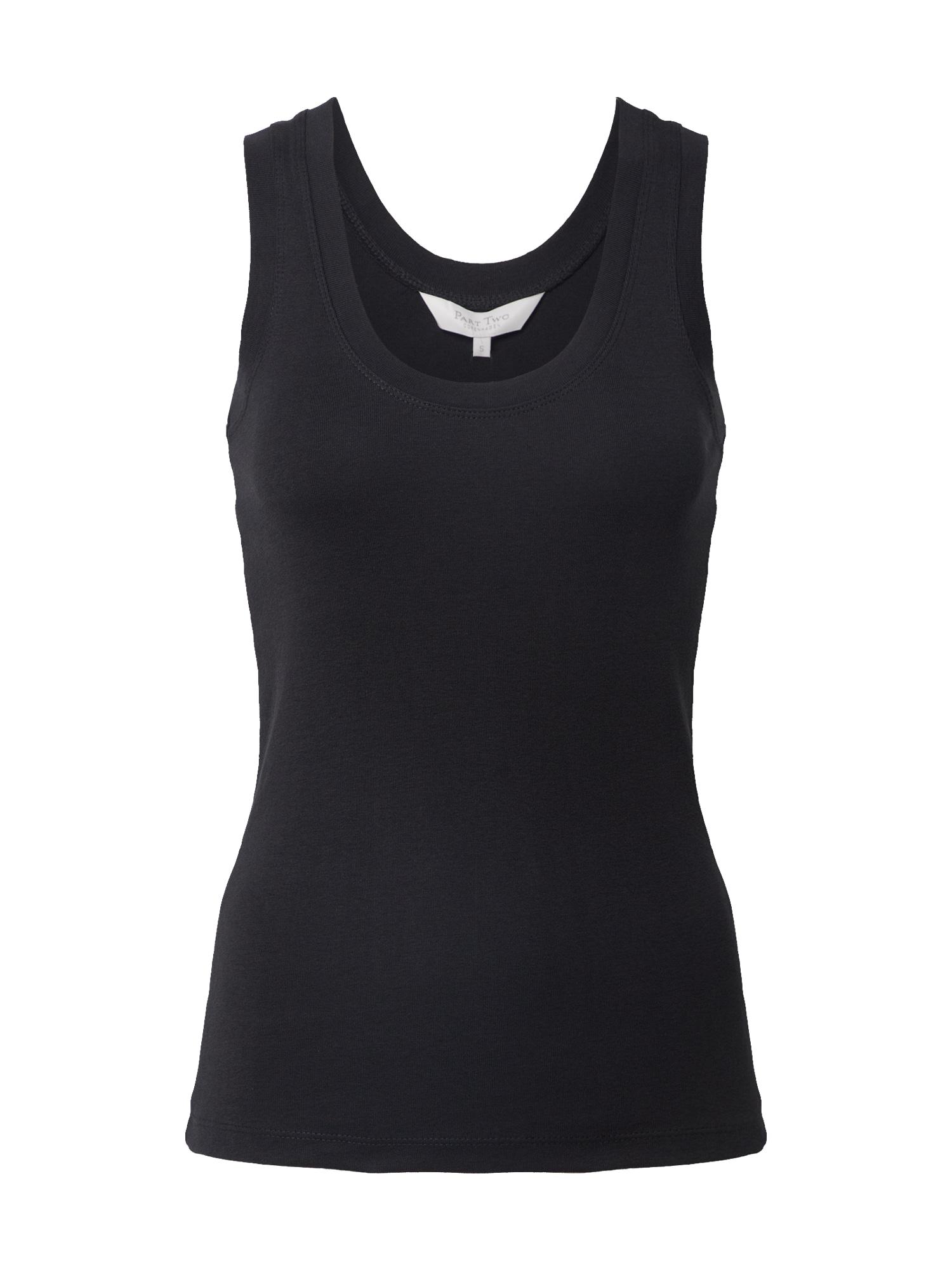 Part Two Apatiniai marškinėliai 'Hikkies' juoda