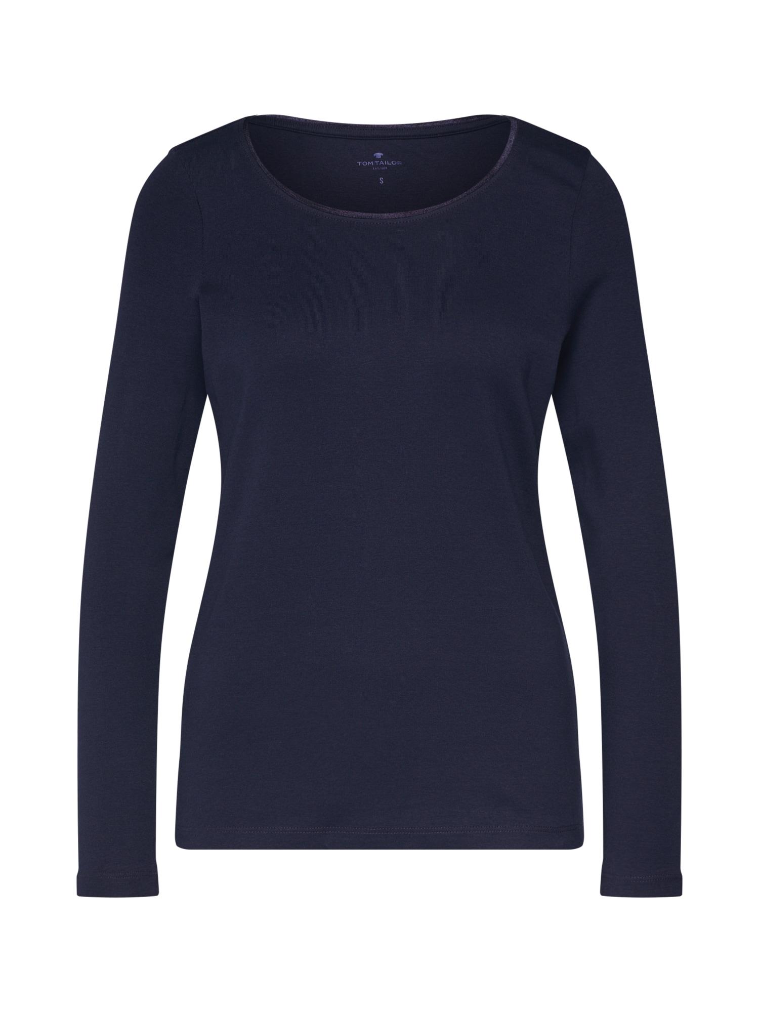 Tričko marine modrá TOM TAILOR