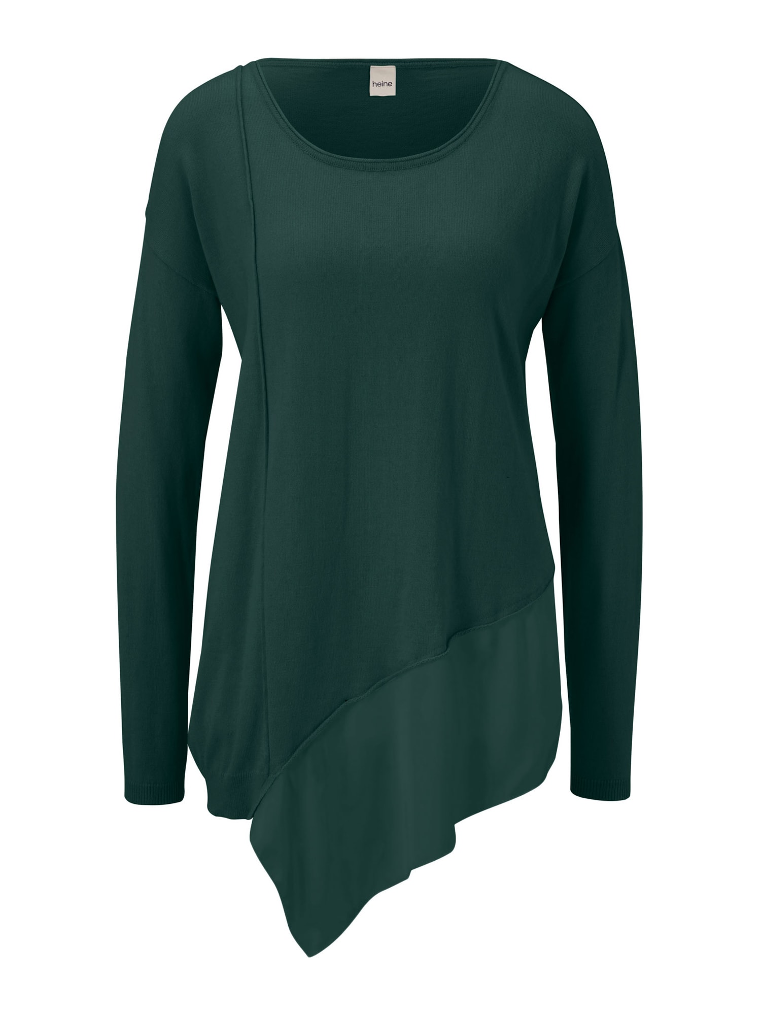 heine Oversize sveter  smaragdová