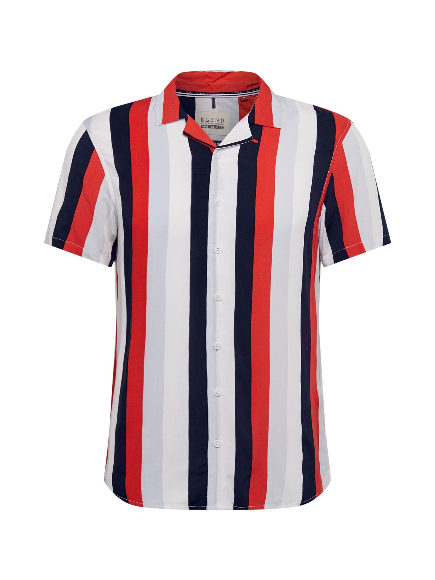 BLEND Dalykiniai marškiniai mišrios spalvos
