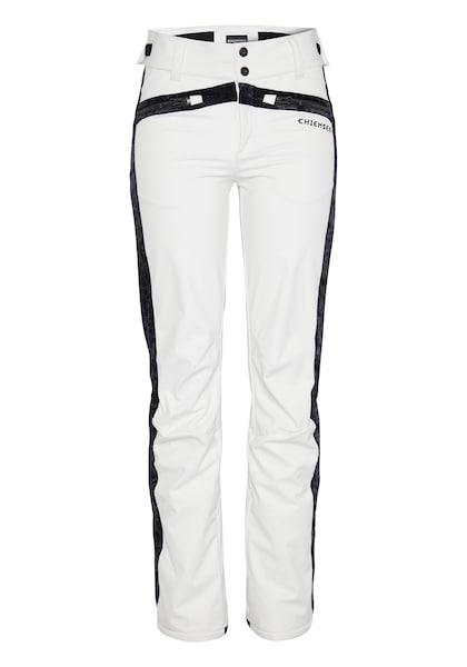 Hosen für Frauen - Skihose 'BIG WHITE Ski Pants' › Chiemsee › schwarz weiß  - Onlineshop ABOUT YOU