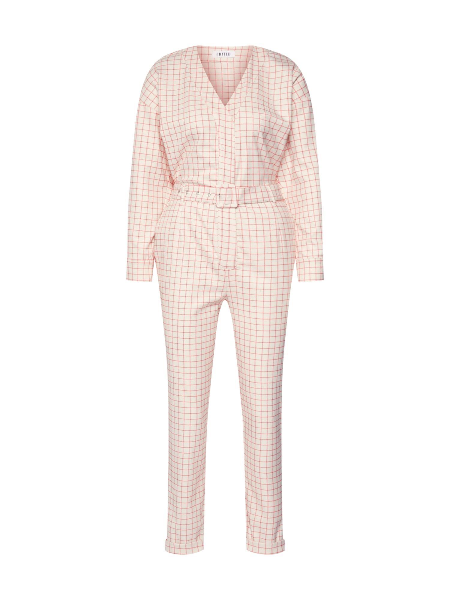 EDITED Kombinezono tipo kostiumas 'Ilvie' mišrios spalvos / raudona / balta