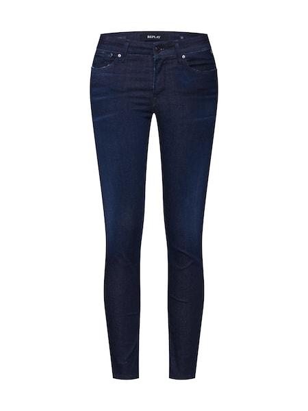 Hosen für Frauen - Jeans 'Luz HYPERFLEX CLOUDS' › Replay › blue denim  - Onlineshop ABOUT YOU