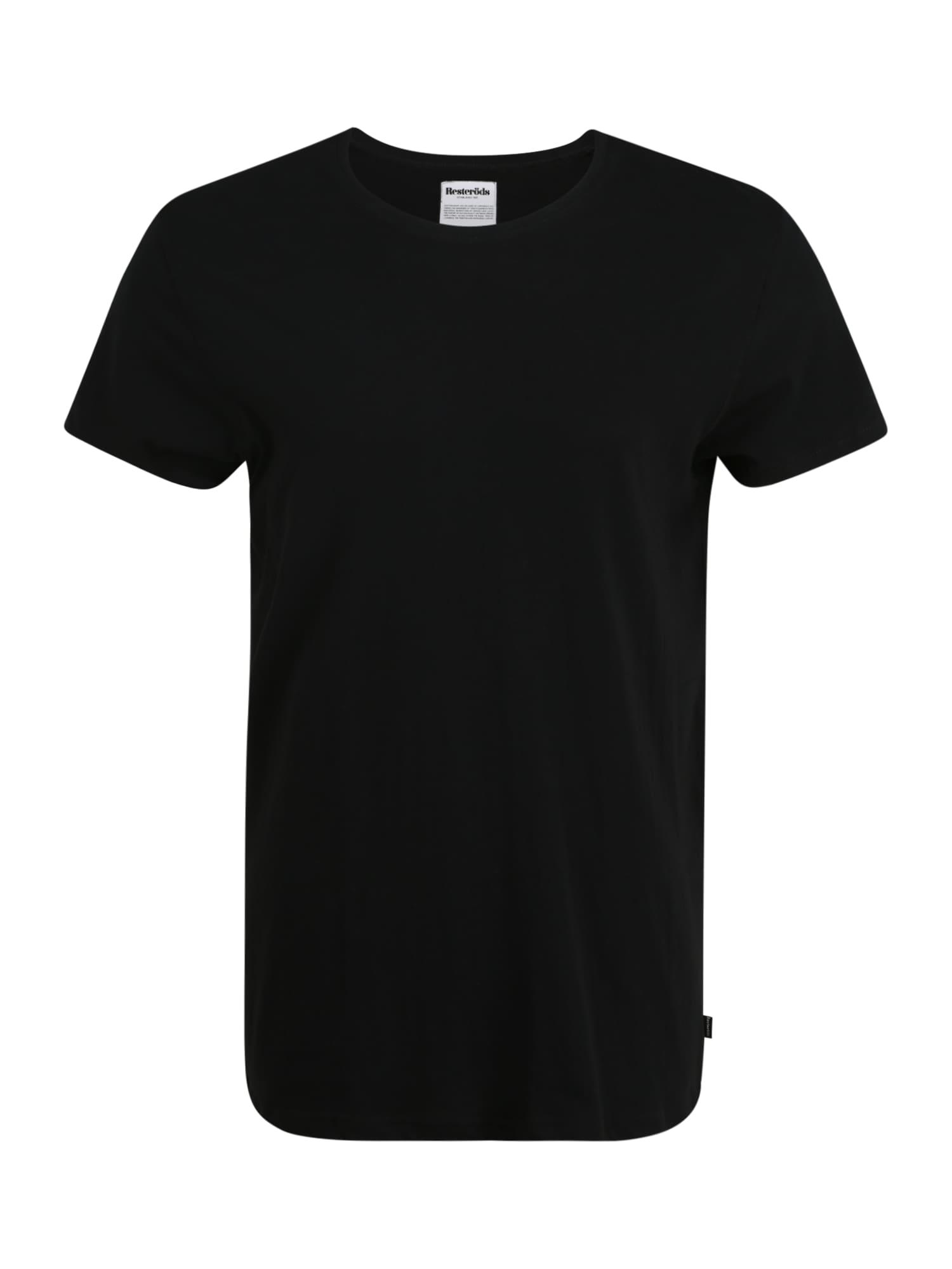 Resteröds Apatiniai marškinėliai juoda