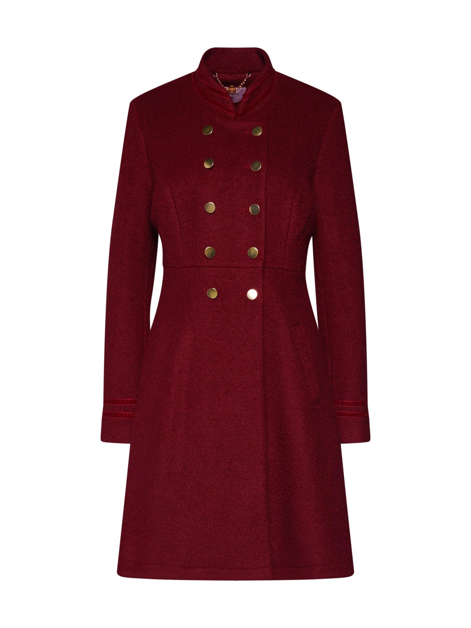 Cream Rudeninis-žieminis paltas 'Annabell' raudona