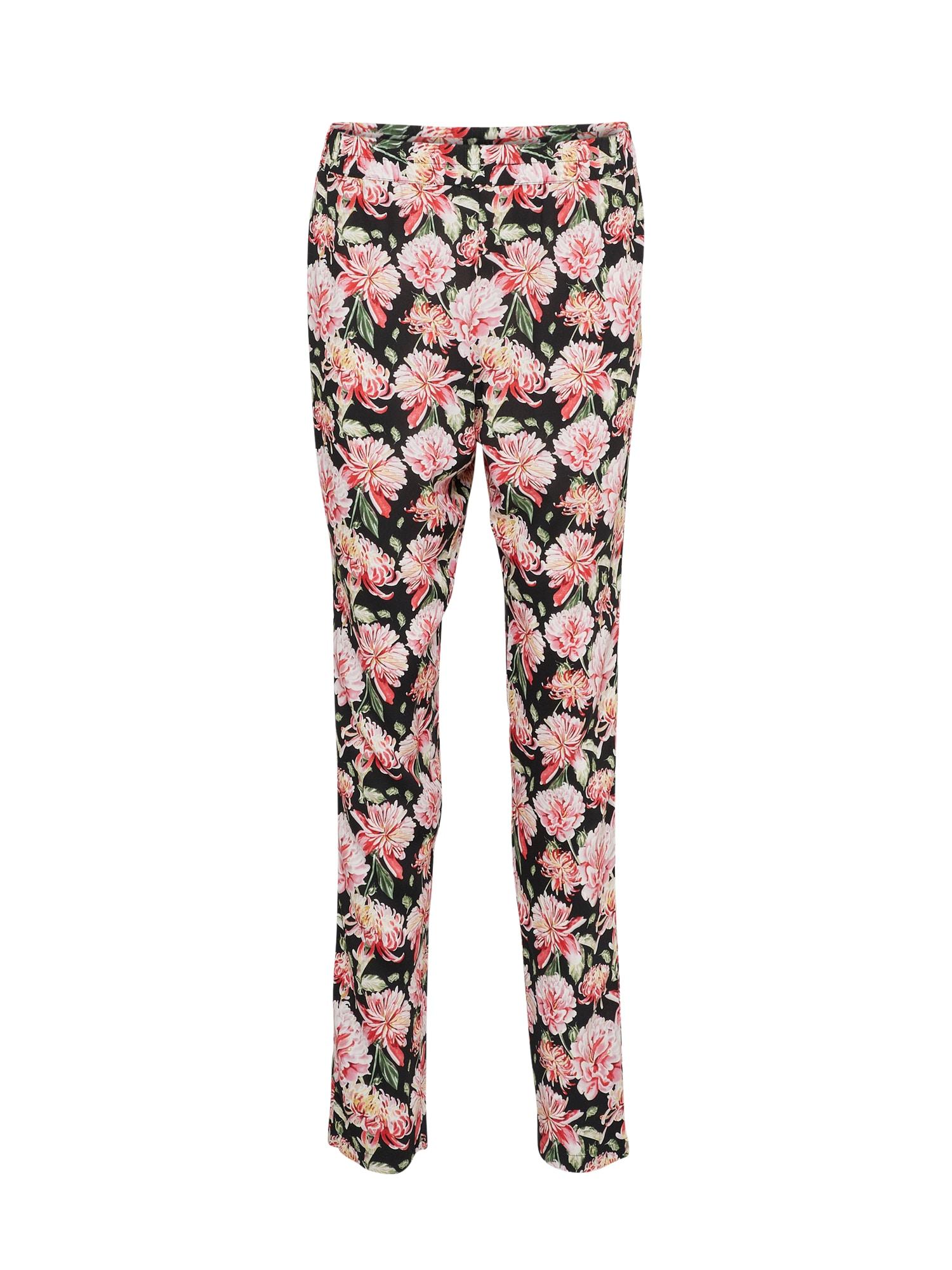 JACQUELINE de YONG Kelnės 'Victory' žalia / rožių spalva