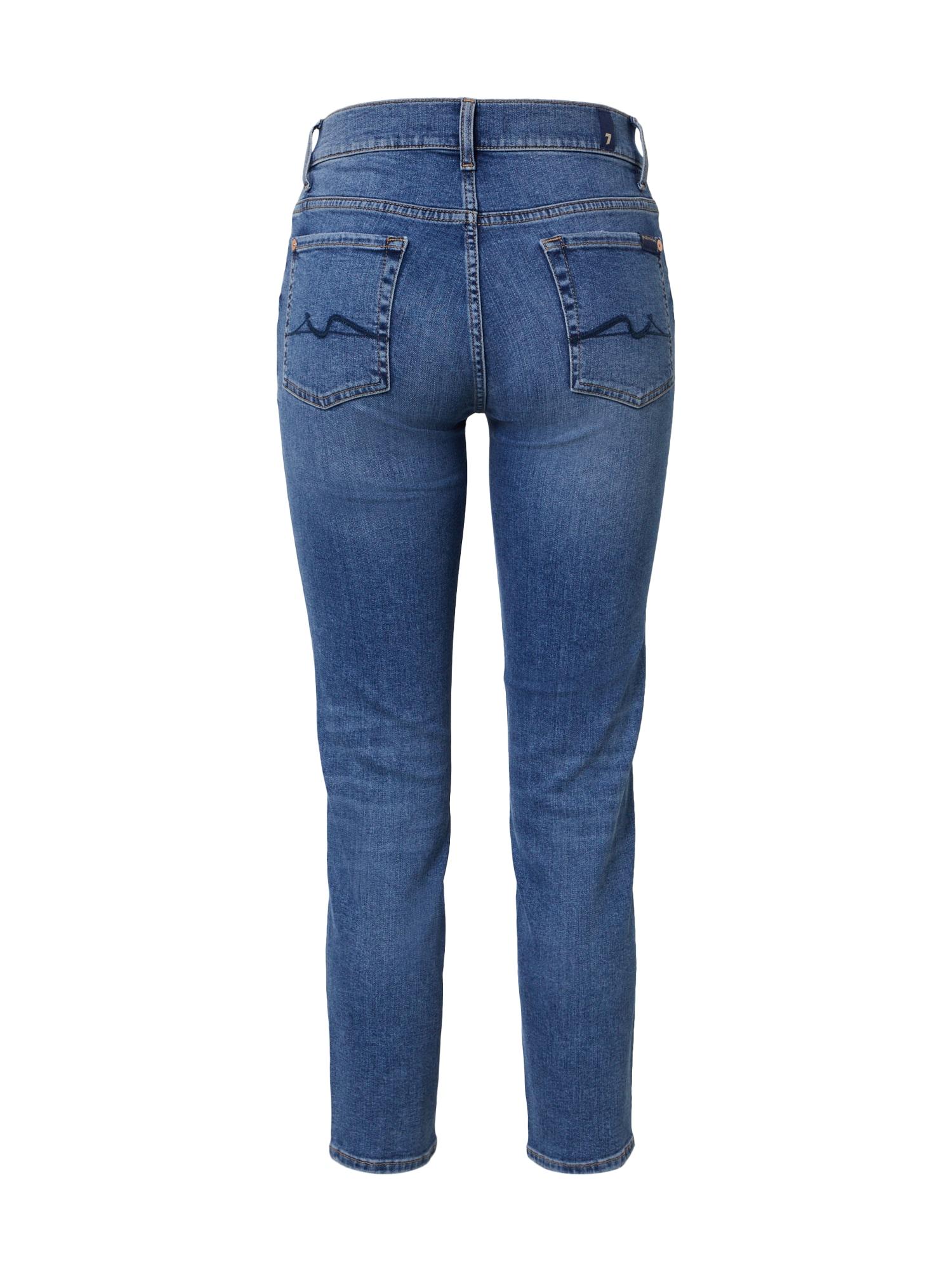 7 for all mankind Jeans 'ROXANNE ANKLE REASON'  blå denim