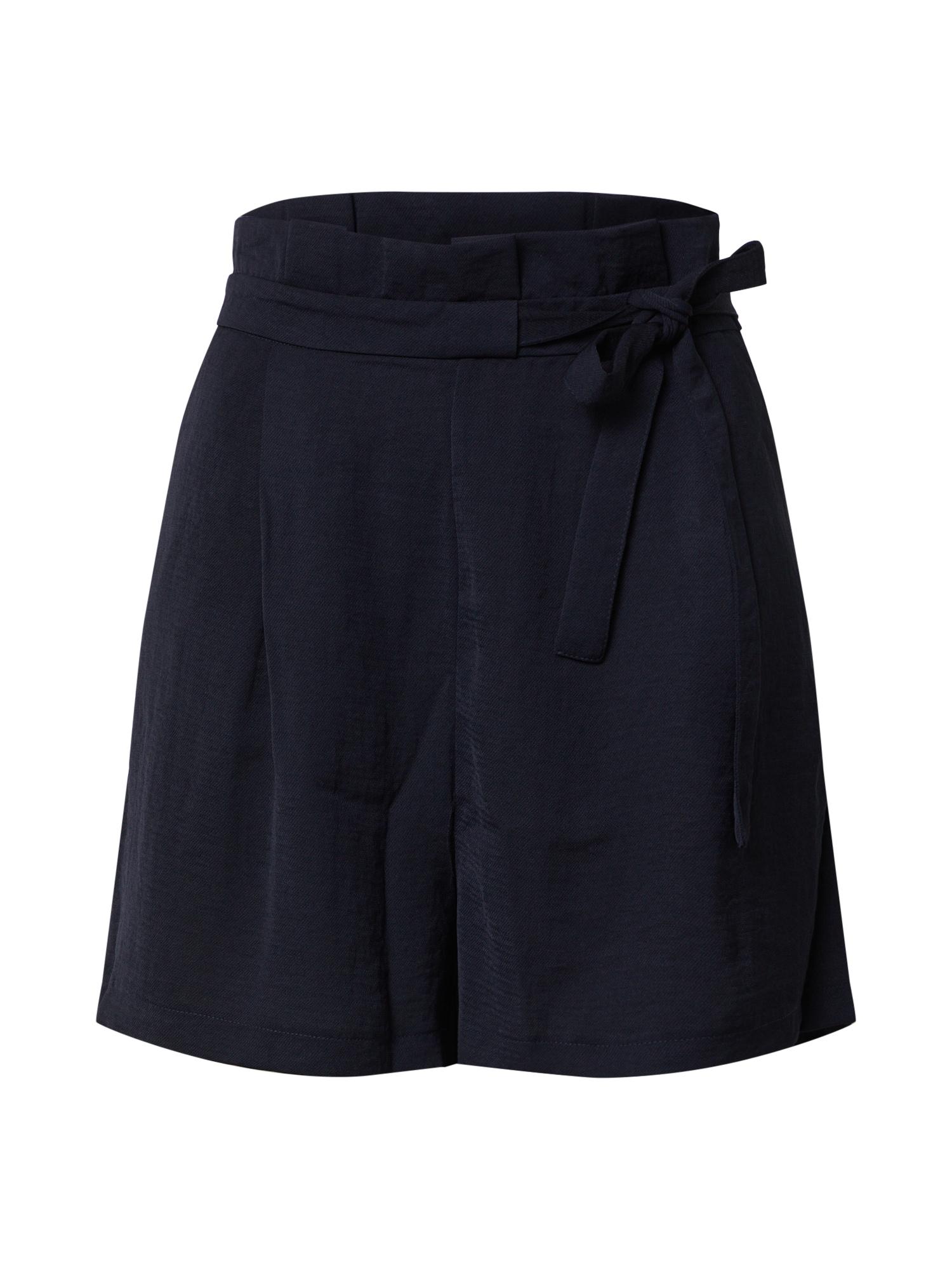ONLY Plisované nohavice 'ONLAMANDA'  námornícka modrá