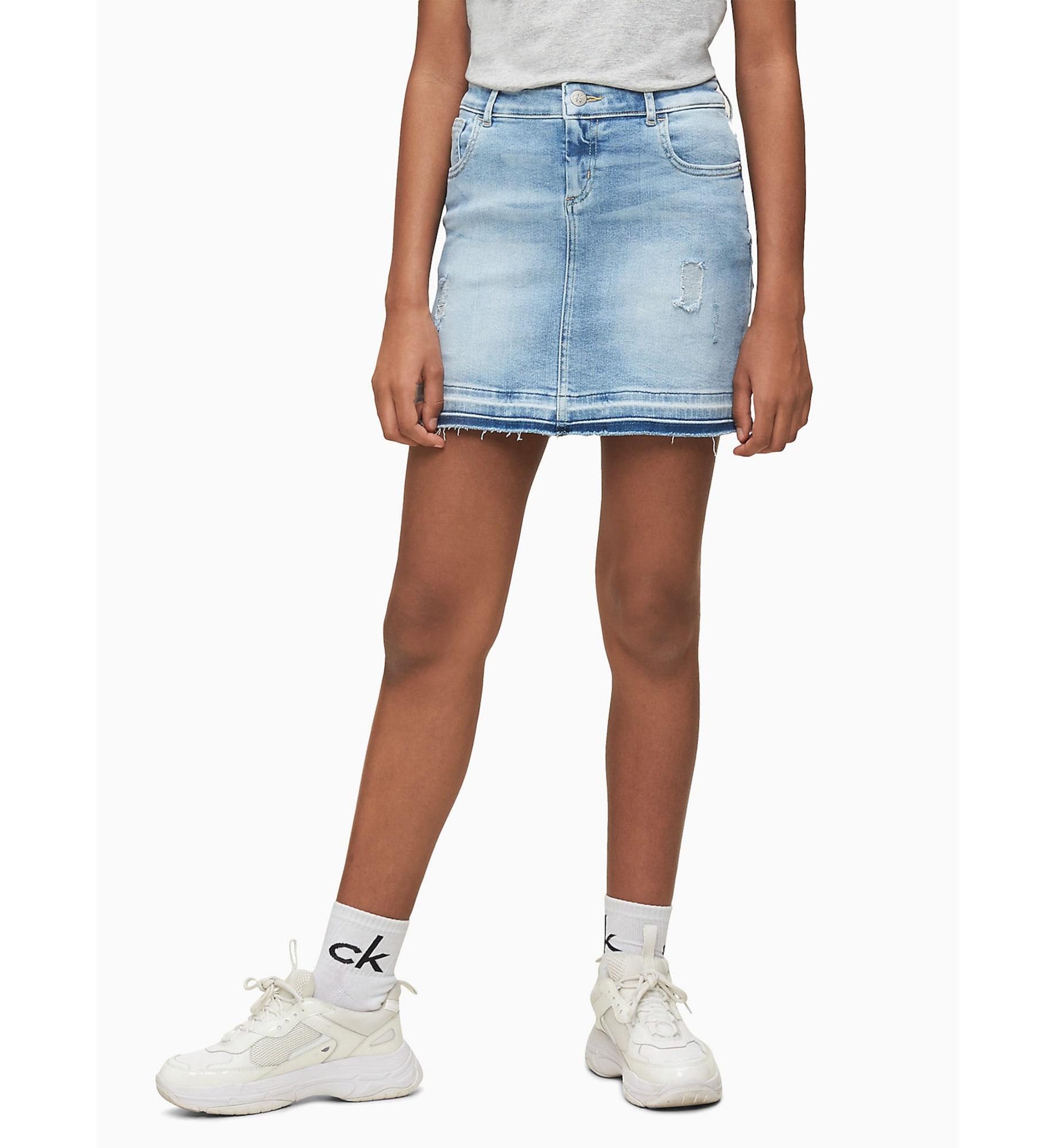Calvin Klein Jeans Kjol  blå denim