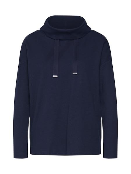 Oberteile für Frauen - Sweatshirt › TOM TAILOR › dunkelblau  - Onlineshop ABOUT YOU
