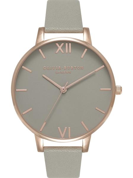 Uhren für Frauen - Olivia Burton Damenuhr 'Grey Dial' gold graumeliert  - Onlineshop ABOUT YOU