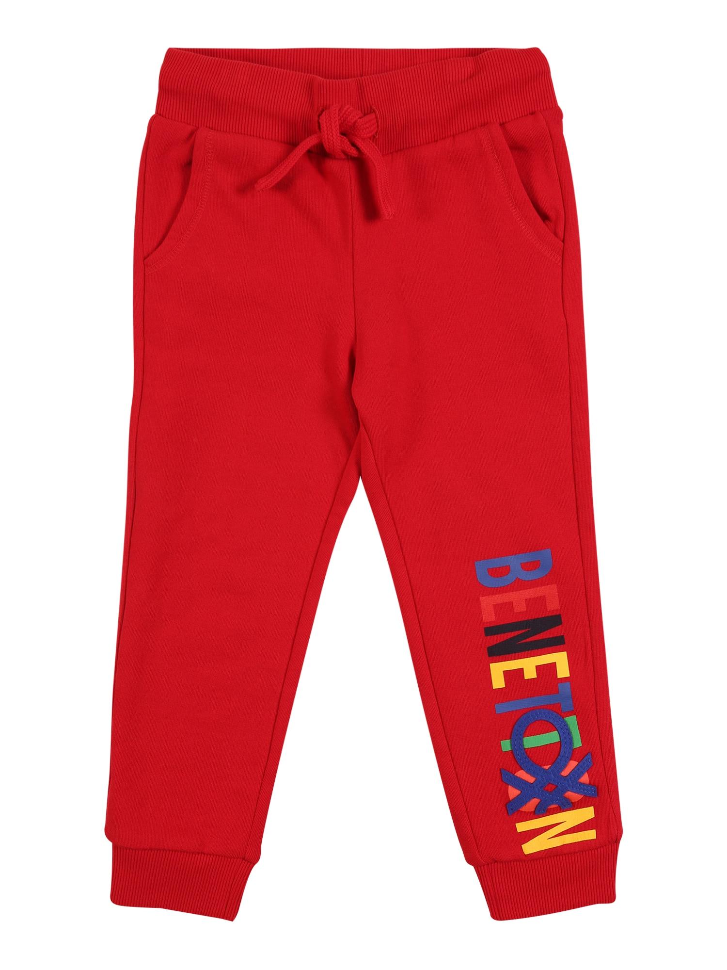UNITED COLORS OF BENETTON Kelnės raudona