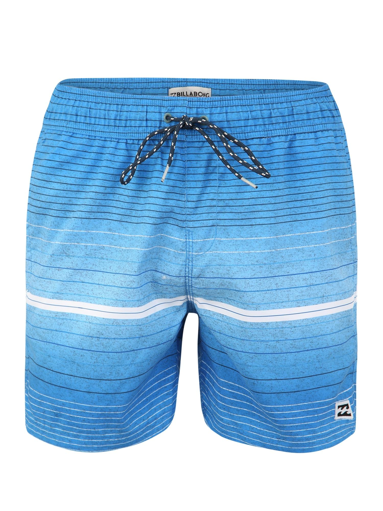 Sportovní plavky all day modrá BILLABONG