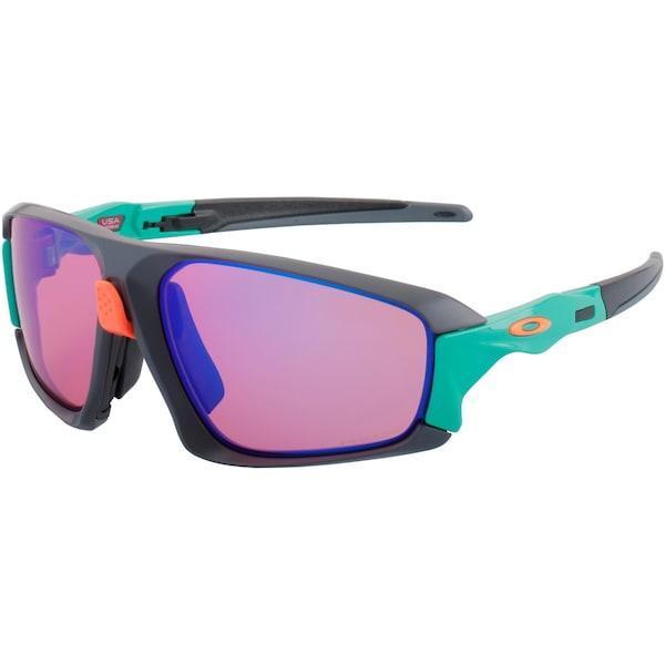 Sonnenbrillen für Frauen - OAKLEY Oakley Field Jacket Sonnenbrille dunkelgrau jade helllila orange  - Onlineshop ABOUT YOU