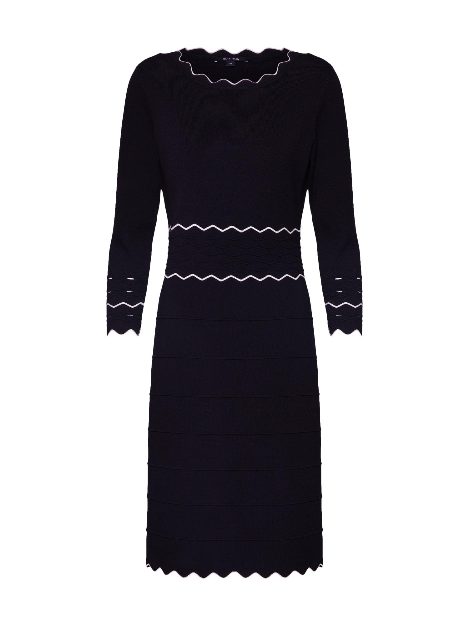 COMMA Kleid schwarz - Schwarzes Kleid