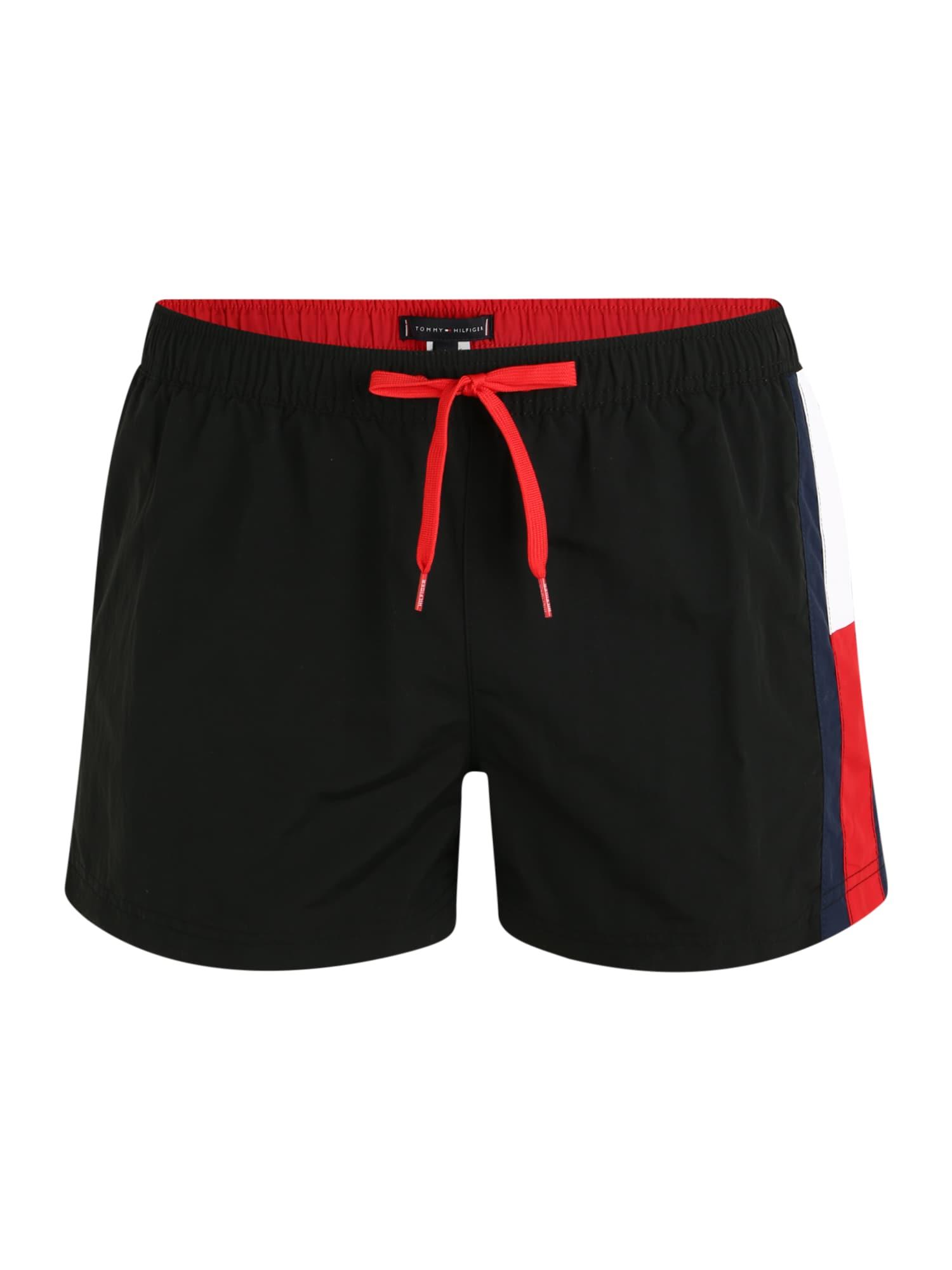 Tommy Hilfiger Underwear Maudymosi trumpikės 'DRAWSTRING' juoda
