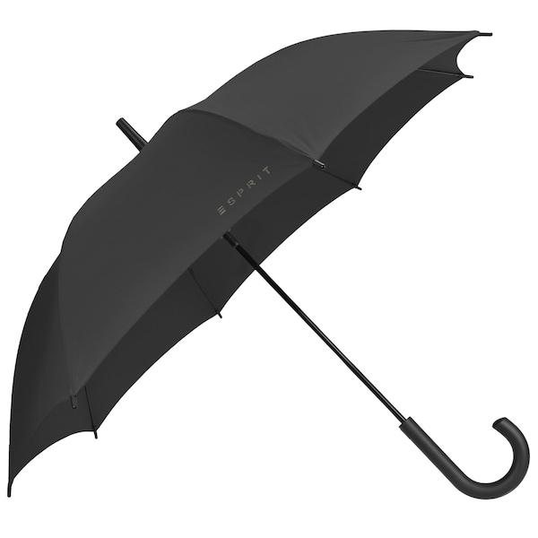 Regenschirme für Frauen - ESPRIT Long AC Stockschirm 83 cm schwarz  - Onlineshop ABOUT YOU
