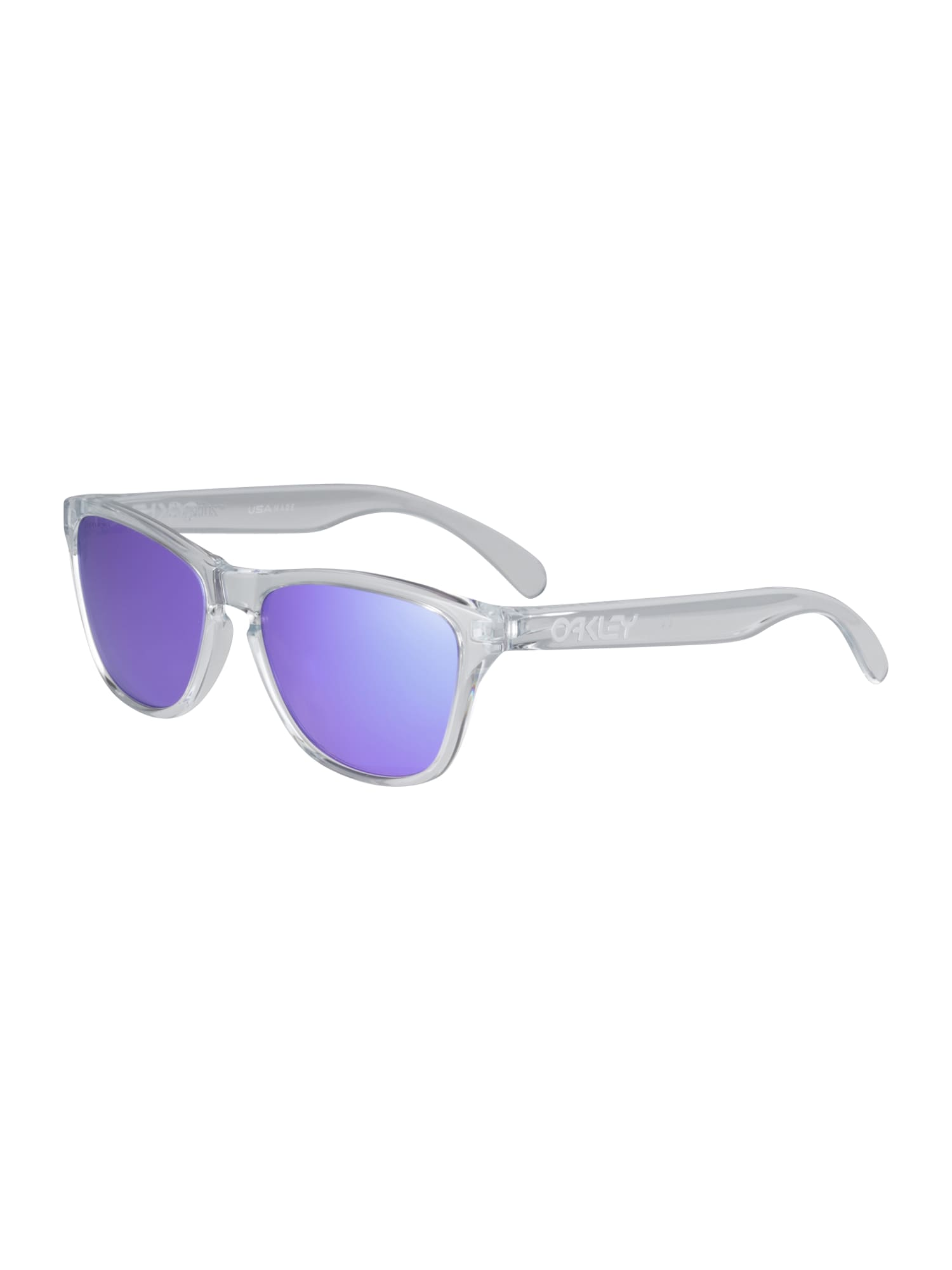 OAKLEY Sportiniai akiniai 'FROGSKINS XS' skaidri spalva / purpurinė