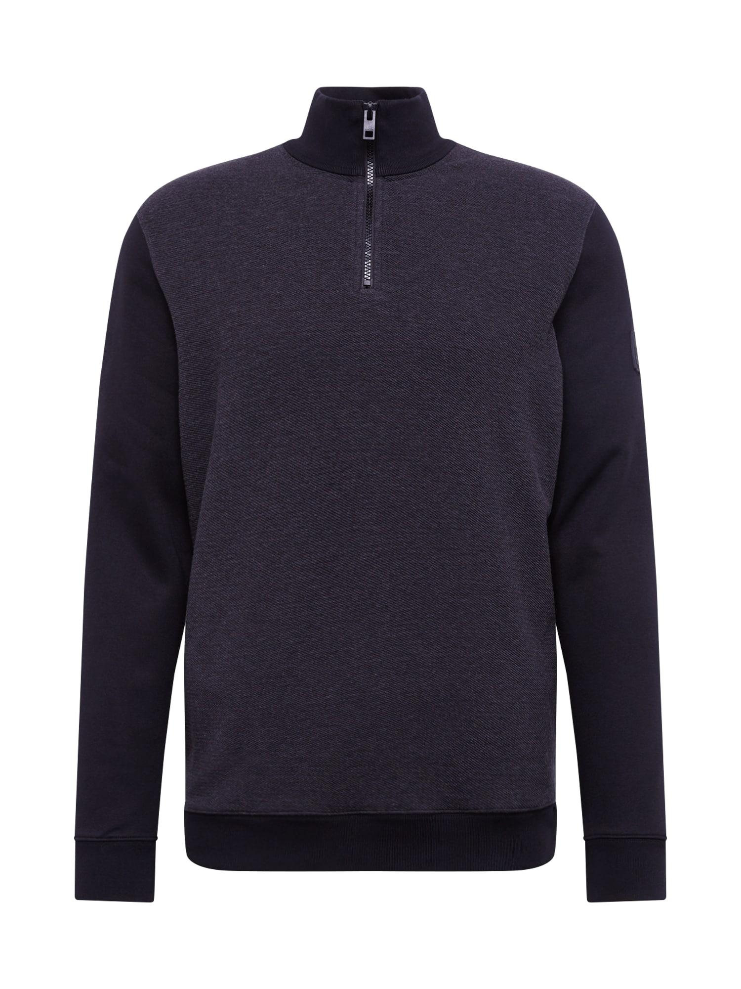 BOSS Marškinėliai 'Zolight' juoda