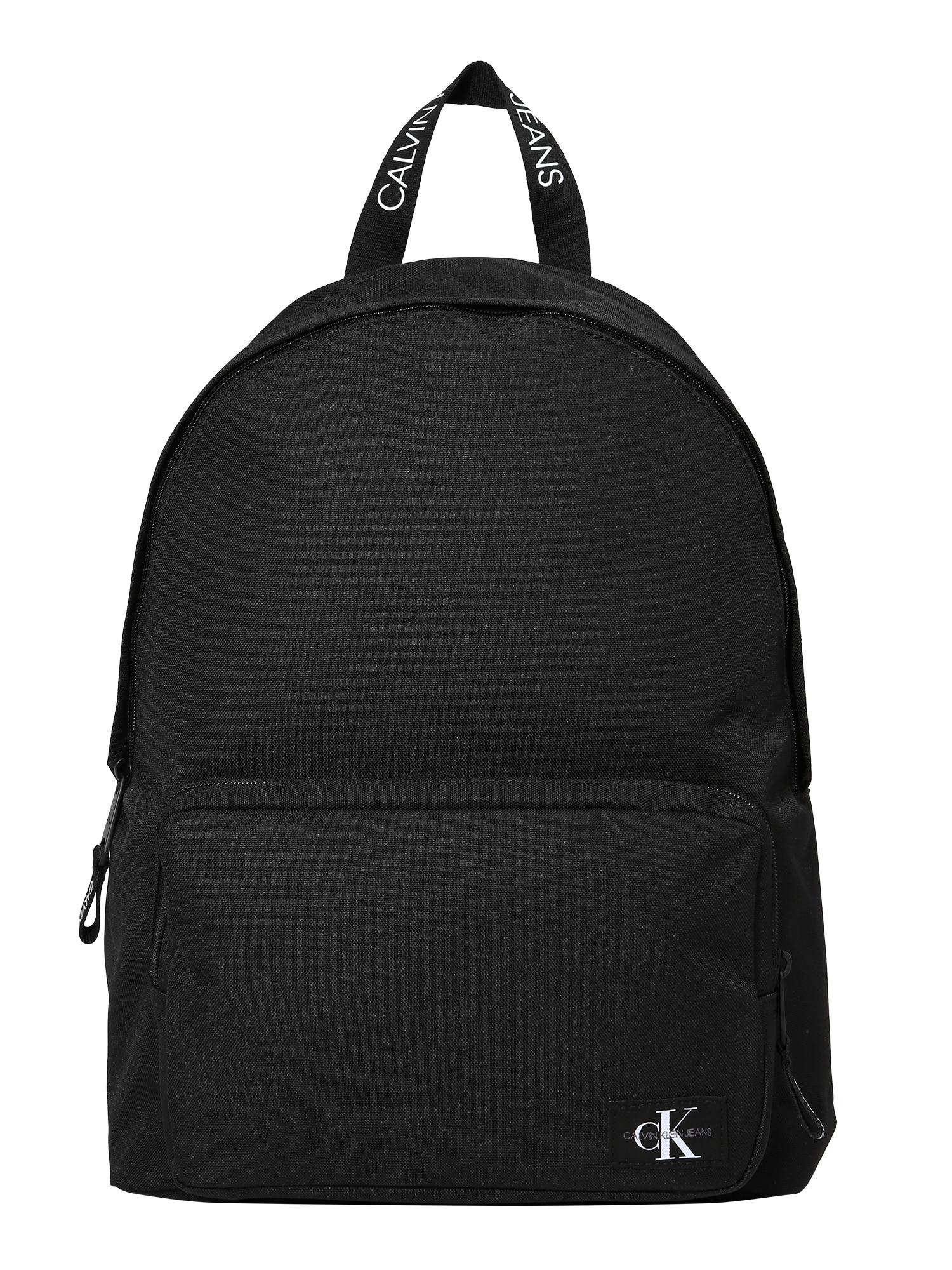 Calvin Klein Jeans Kuprinė 'CAMPUS' juoda